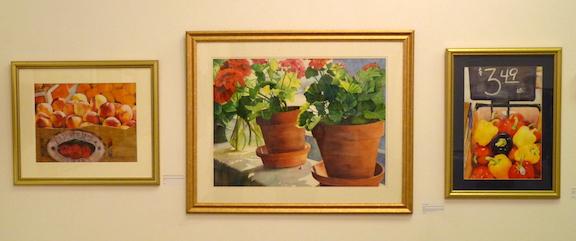 Betty's watercolors
