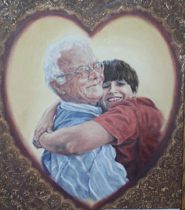 Grandpa's Hug web