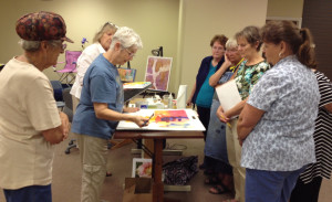 Yupo Paper Demo by Mary Lou Hall