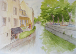 Jo-Friel-Houses-on-canal-Chartres-web